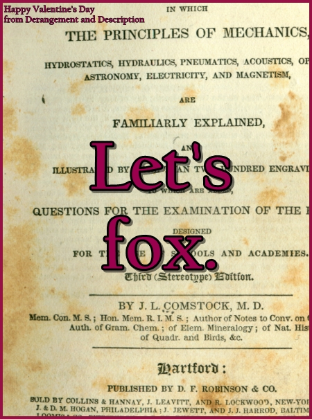 """Let's fox"" over a foxed paper"